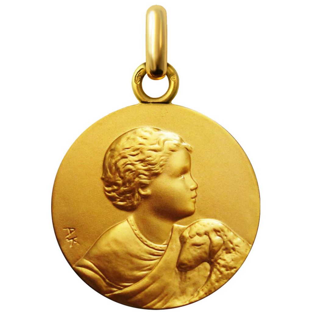 pas mal 21af6 c3955 Médaille le Petit Pasteur en or 18 mm